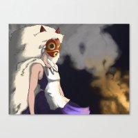 mononoke Canvas Prints featuring Mononoke by Oda Oda