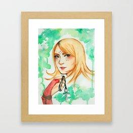 keira metz Framed Art Print