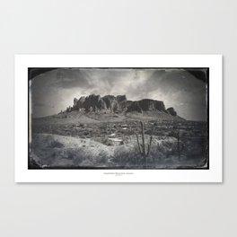 Superstition Mountain - Arizona Desert Canvas Print