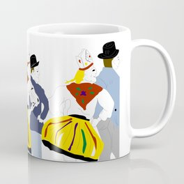 Rahvatants / Estonian Folk Dance Coffee Mug