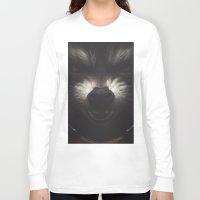 rocket raccoon Long Sleeve T-shirts featuring ROCKET RACCOON by yurishwedoff