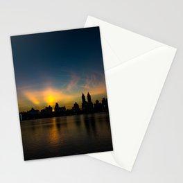 Central Park Sunset Stationery Cards
