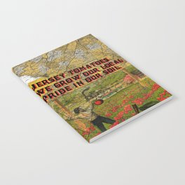 Jersey Tomatoes, We Grow our Pride Notebook