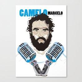 Marcelo Camelo - Los Hermanos Canvas Print