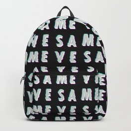 Save Me - Typography Backpack