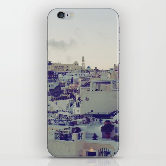 Fira at Dusk IV iPhone & iPod Skin