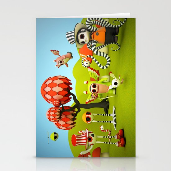 The Gathering Stationery Cards