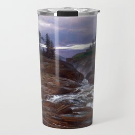Johan Christian Dahl The Lower Falls of Labrofoss Travel Mug