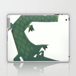Snapping vintage Alligator Laptop & iPad Skin
