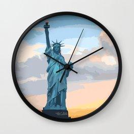 Liberty! Wall Clock