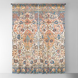 Isfahan Antique Central Persian Carpet Print Blackout Curtain
