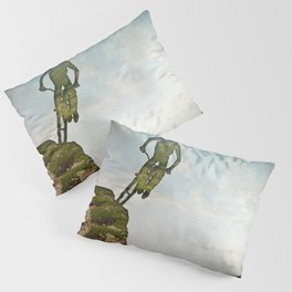 Biking Off Road Pillow Sham