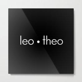 leo • theo Metal Print