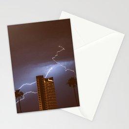 Lightning in Las Vegas Stationery Cards
