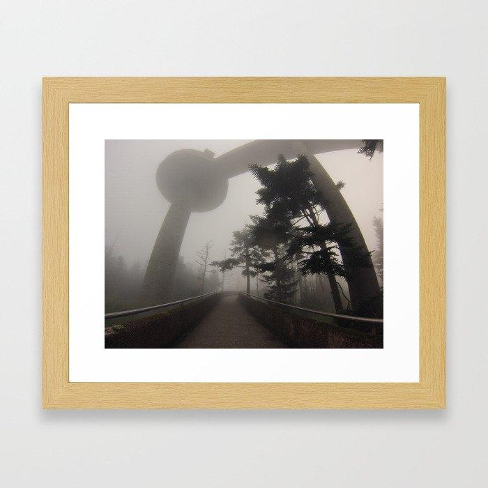 Clingmans Dome - NC Framed Art Print