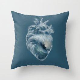 Into the Heart of the Ocean Throw Pillow