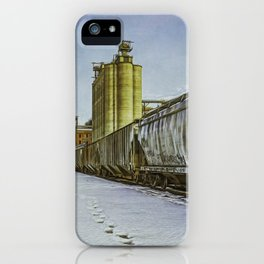 Cold Trains, heh heh. iPhone Case