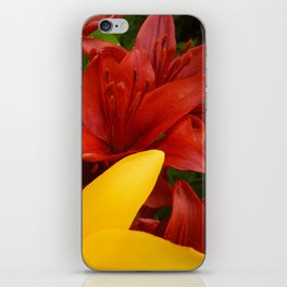 """""""A Gathering of Lilies"""" - 4 [D4469~57] iPhone Skin"""