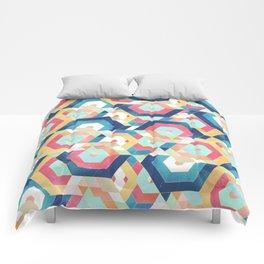 Modern geometric abstract pattern Comforters