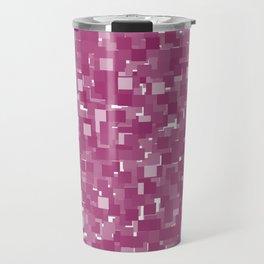 Festival Fuchsia Pixels Travel Mug