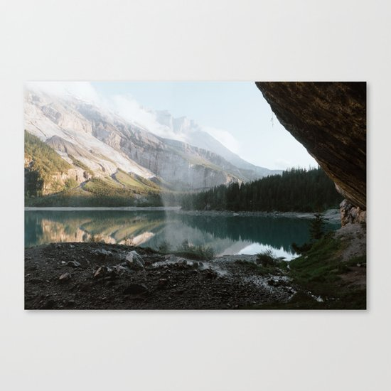 Mountain Lake Vibes III - Landscape Photography Canvas Print