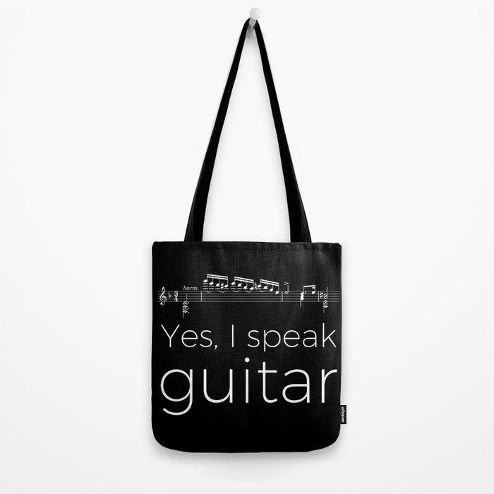 Yes, I speak guitar Tote Bag