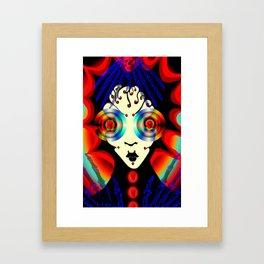 boney big eyes Framed Art Print