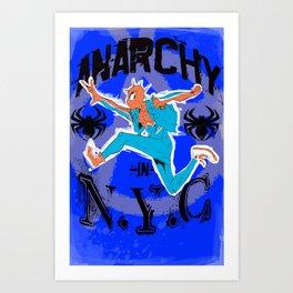 Anarchy in N.Y.C Art Print