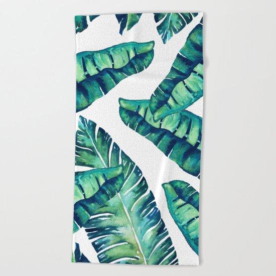 Tropical Glam #society6 #decor #buyart Beach Towel