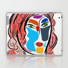 Poetic Pop Art Portrait Laptop & iPad Skin