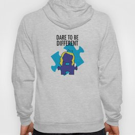 Dare To Be Different. [Autism Awareness] Hoody