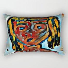 The Girl Rectangular Pillow