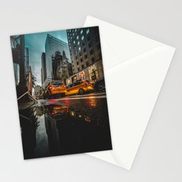 Manhattan Taxi Stationery Cards