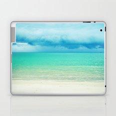 Blue Turquoise Tropical Sandy Beach Laptop & iPad Skin