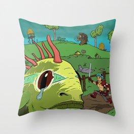 Save a Murloc Throw Pillow