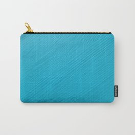 Light blue painted wood Carry-All Pouch