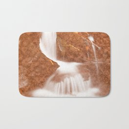 Vintage Velvet Waterfall Bath Mat