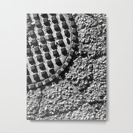 The Image Has Crack'd part 3 Metal Print