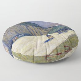James Wilson Morrice Gibraltar Floor Pillow