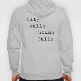 City Walls Autumn Falls Baby Onsie Hoody