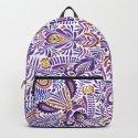 Gloomy purple mandala pattern by zsofi