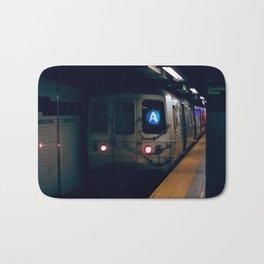 NYC Subway 35mm film Bath Mat