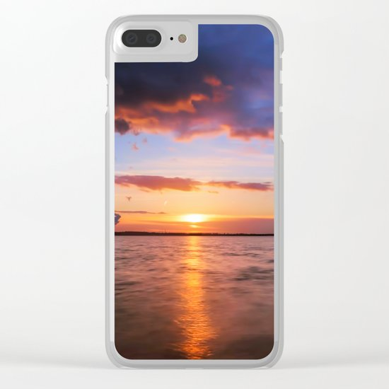 Beautiful Sundown II - #Society6 Clear iPhone Case