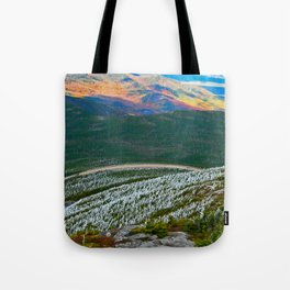 Autumn Waving From Far Away Tote Bag