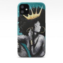 Naturally Queen VI  TEAL iPhone Case
