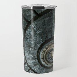 Dark spiral staircase Travel Mug