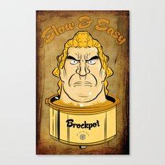 Brockpot Canvas Print