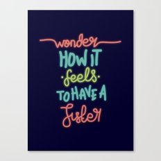 Wonder Sister Canvas Print