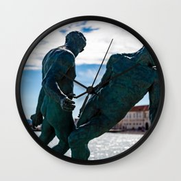 Art Piece by Roberto Silva Wall Clock