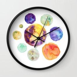 Planets Wall Clock